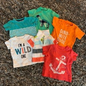 Carters short sleeve bundle of 5, 3 months